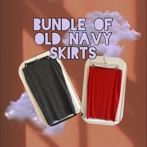 Bundle of Old Navy skirts